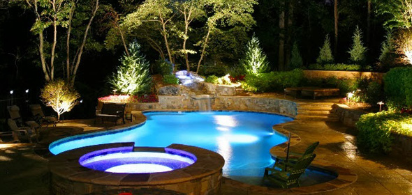 landscape lighting in nj